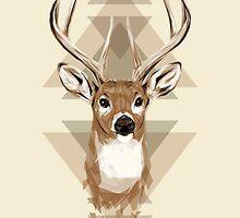 Geometric Deer by JoeConde
