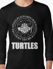 TMNT Ramones Logo Long Sleeve T-Shirt