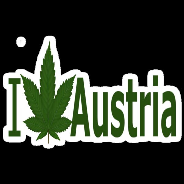 0191 I Love Austria  by Ganjastan