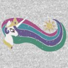 Princess Celestia by vaguelygenius