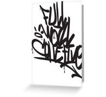 FULL WALL COLLECTIVE Greeting Card