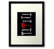 Hammer Time Framed Print