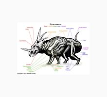 Styracosaurus Skeleton Study Unisex T-Shirt
