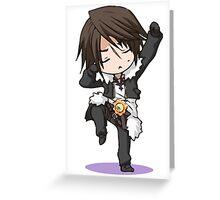 Chibi Squall Greeting Card