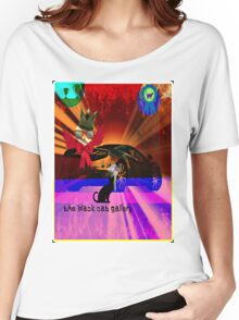 black cat gallery 2014 Women's Relaxed Fit T-Shirt