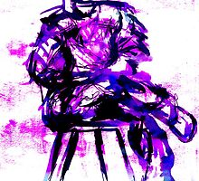 plum chair by sebmcnulty