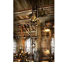Machinist - In the age of industry Photographic Print