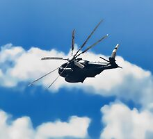 Sikorsky CH-53 by Noble Upchurch