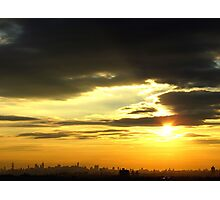 Late afternoon in New York City  Photographic Print