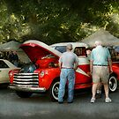 Car - Guys and cars by Mike  Savad