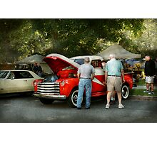 Car - Guys and cars Photographic Print