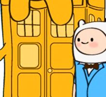 Police Box Jake and Finn Sticker