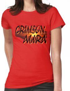 crimson aura 4 Womens Fitted T-Shirt