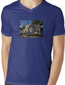 Medusa Gorgon in Apollo Temple, Didyma Mens V-Neck T-Shirt