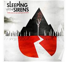 SLEEPING WITH SIRENS EARS TO SEE Poster