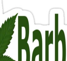 0196 I Love Barbados Sticker