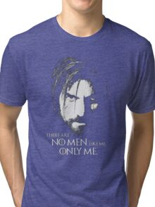 No Men Like Me Only Me Tri-blend T-Shirt