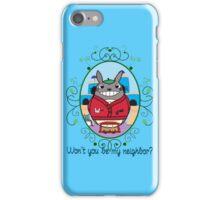 Mr. Totoro's Neighborhood. iPhone Case/Skin