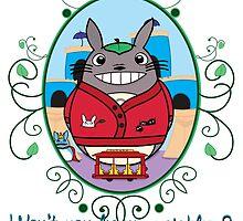 Mr. Totoro's Neighborhood. by alexhefe