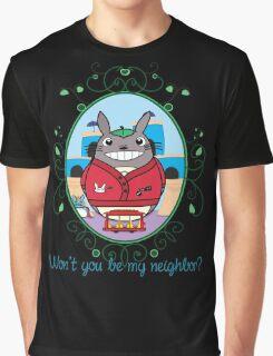 Mr. Totoro's Neighborhood. Graphic T-Shirt