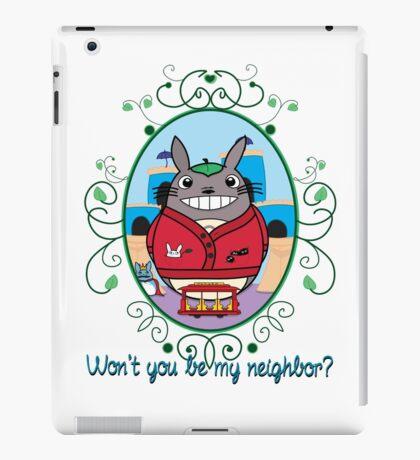 Mr. Totoro's Neighborhood. iPad Case/Skin