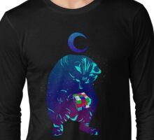 Rubik's Cube Cat Long Sleeve T-Shirt