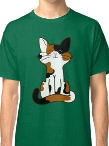 Sitting Calico Cat Classic T-Shirt