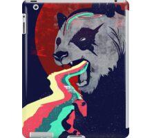 Angry Rainbow Panda iPad Case/Skin