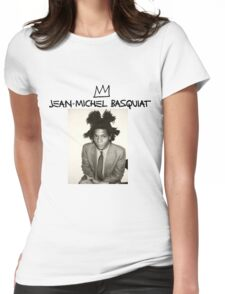 Jean Michel Basquiat Womens Fitted T-Shirt