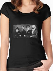 Karl Marx and his Brothers Women's Fitted Scoop T-Shirt