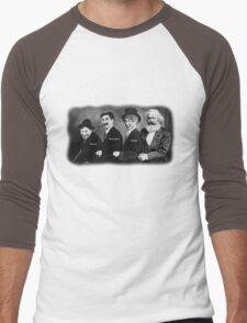 Karl Marx and his Brothers Men's Baseball ¾ T-Shirt
