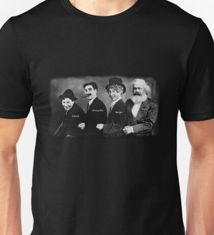 Karl Marx and his Brothers Unisex T-Shirt