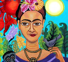Frida Kahlo by Genevieve Esson