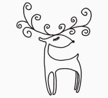 Sweet Reindeer Kids Tee