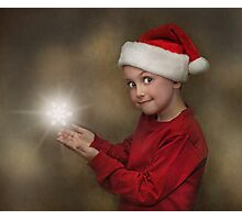 Snowflake Elf Photographic Print