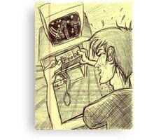 Sweaty Trials ~ Gaming Memories Canvas Print