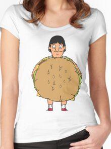 Gene Belcher Illustration Women's Fitted Scoop T-Shirt