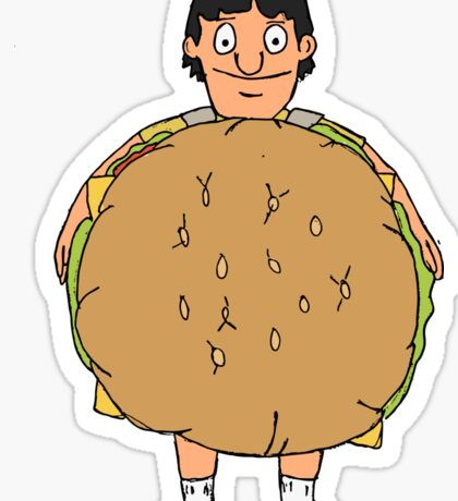 Gene Belcher Illustration Sticker