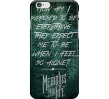 Memphis May Fire iPhone Case/Skin