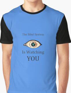 Sibyl is watching Graphic T-Shirt
