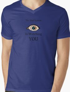 Sibyl is watching Mens V-Neck T-Shirt