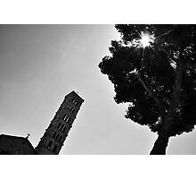 Church Tower Photographic Print