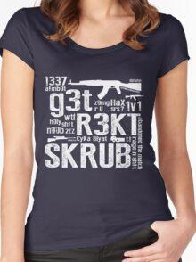 CounterStrike GetRektSkrub Women's Fitted Scoop T-Shirt