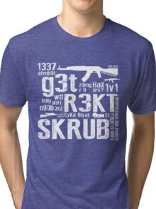 CounterStrike GetRektSkrub Tri-blend T-Shirt