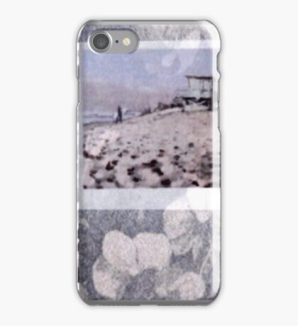 Malibu First Point Pale Silver Orchid Overlay iPhone Case/Skin