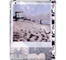 Malibu First Point Pale Silver Orchid Overlay iPad Case/Skin