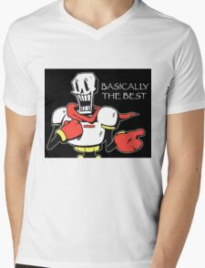 Papyrus from Undertale Mens V-Neck T-Shirt