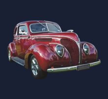 Red 1938 Ford Coupe Kids Clothes