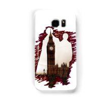 Sherlock Holmes Sillhoute Samsung Galaxy Case/Skin