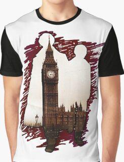 Sherlock Holmes Sillhoute Graphic T-Shirt